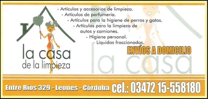 ESPACIO PUBLICITARIO : LA CASA DE LA LIMPIEZA