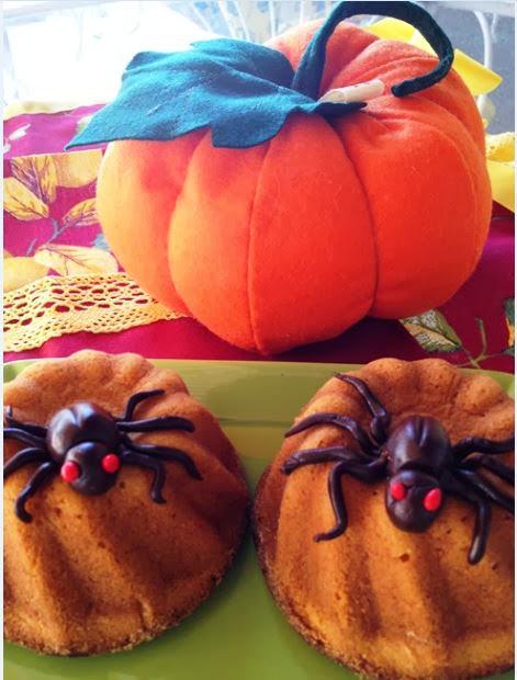 i ragnetti golosi   ovvero....te lo do io halloween!!!!!