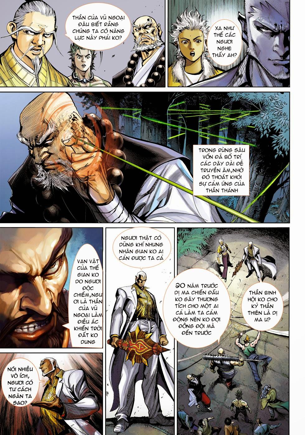 Thần Binh 4 chap 25 - Trang 13