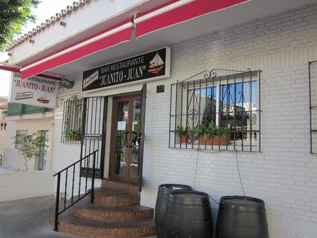Exclusive m laga restaurante juanito juan for Juanito makande malaga