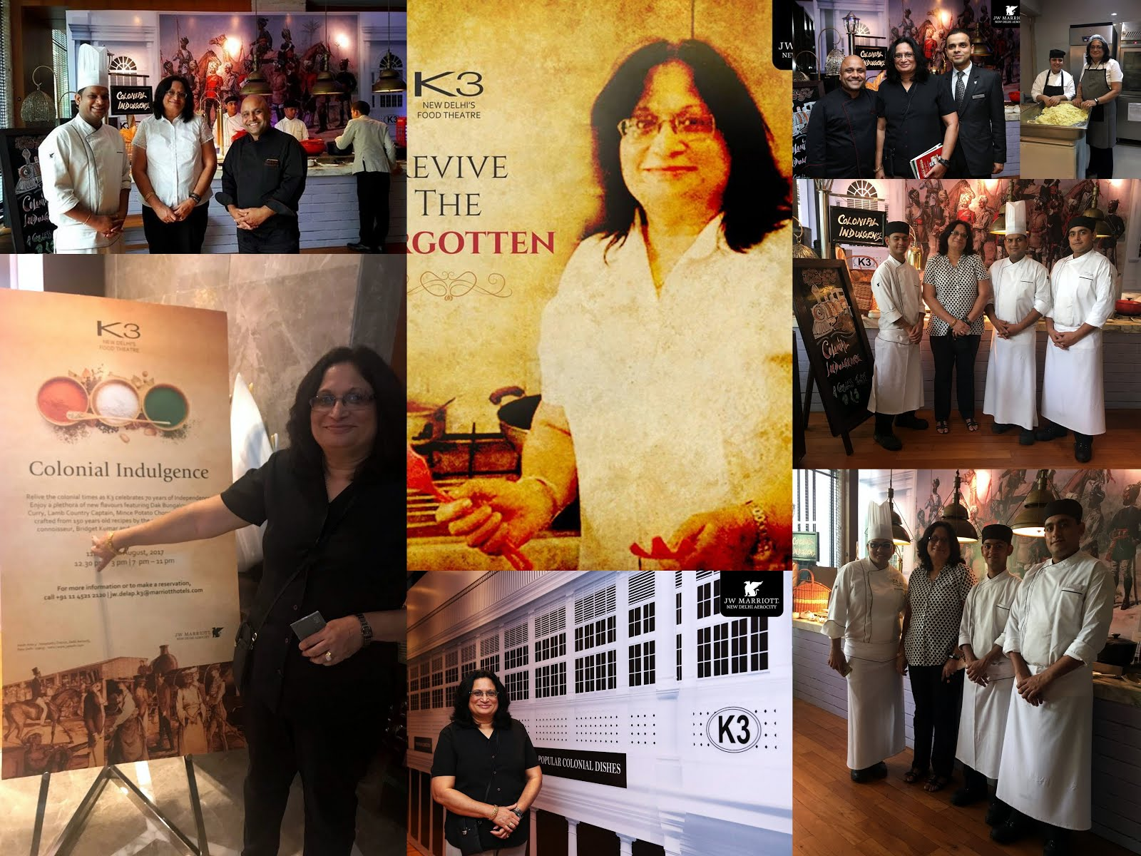 COLONIAL ANGLO-INDIAN FOOD PROMOTION EVENT - CULINARY INDULGENCE- AT J W MARRIOTT, NEW DELHI, AEROC