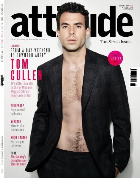 Tom Cullen by Joseph Sinclair for Attitude Magazine