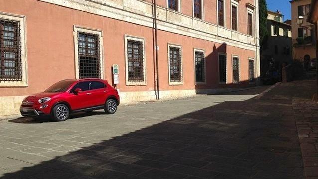 Fiat 500X leak