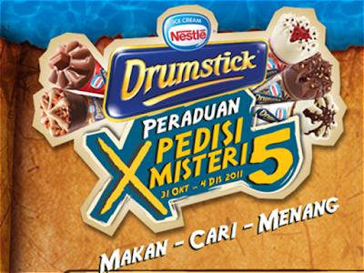 Peraduan Nestle Drumstick 'Xpedisi Misteri 5'