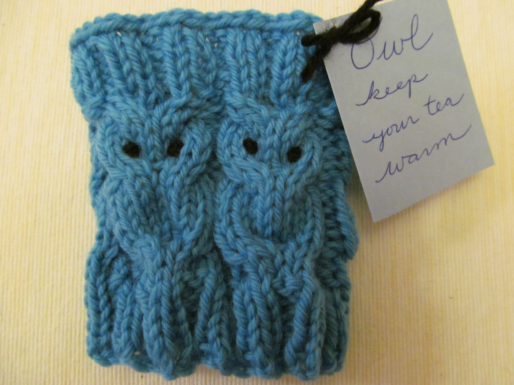 Sewing on Pins: Owl Keep Your Cup Cozy