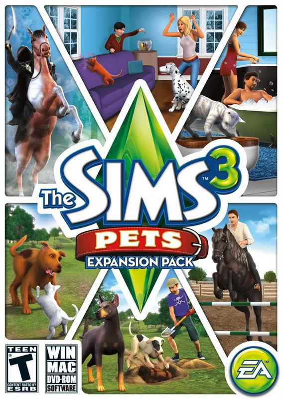 The sims 3 pets freeboot - 7089