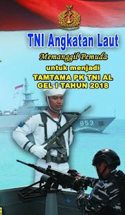 .Pembukaan Pendaftaran Tamtama TNI AL 2018