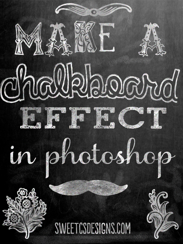 Chalkboard effect (Photoshop tutorial)