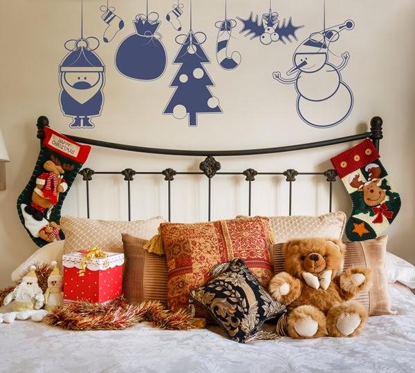Vinilos Decoracion Navidad ~ Vinilo decoraci?n Infantil de Navidad NA002