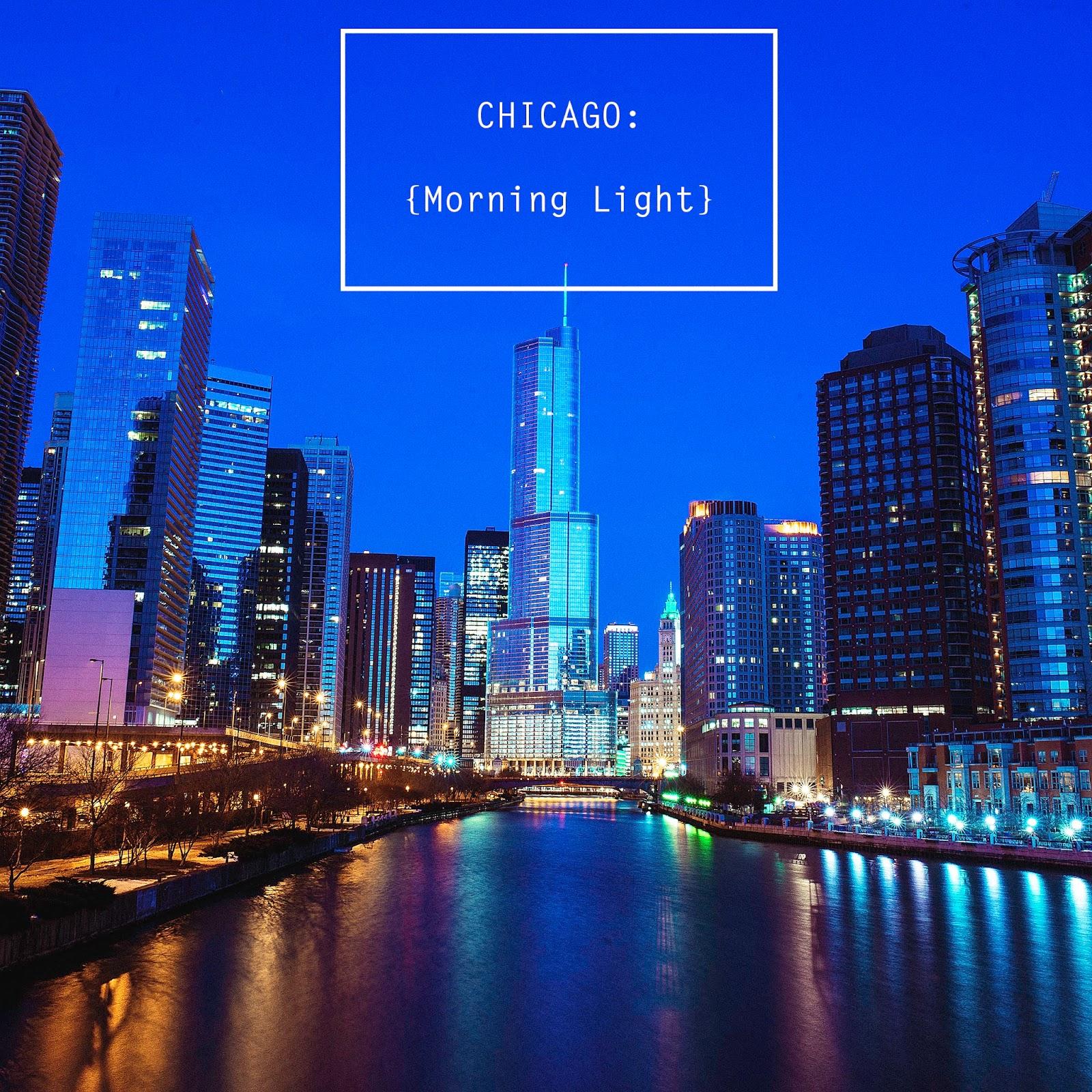 Trump Tower Chicago Sunrise
