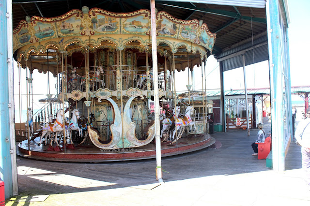 Blackpool North Pier Carousel
