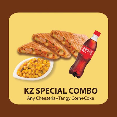 Special meals at Kaati zone