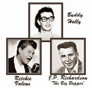 música, Buddy Holly, Ritchie Valens, Big Bopper