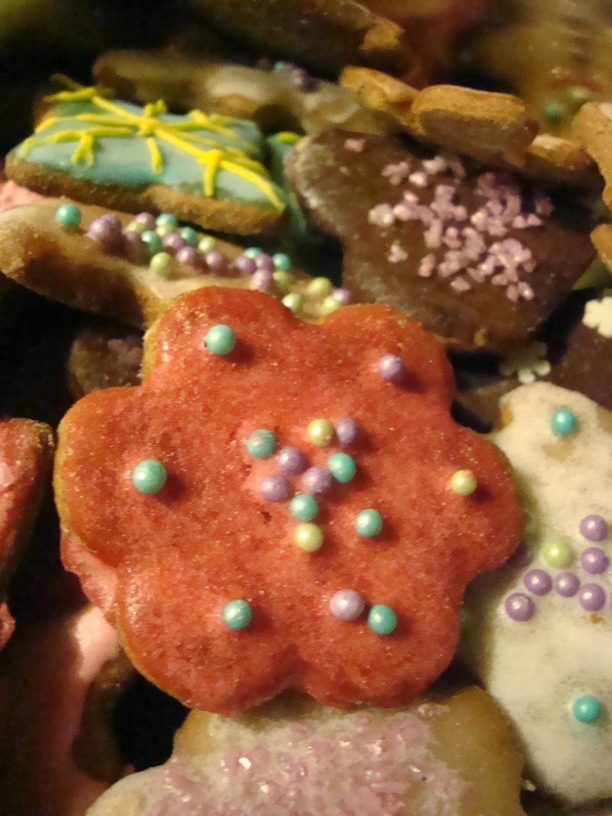 tradycyjne pierniczki, na święta
