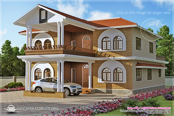 3836 sq-ft luxury house