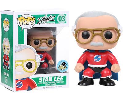 "Comikaze 2015 Exclusive ""Superhero"" Stan Lee Pop! Vinyl Figure by Funko"