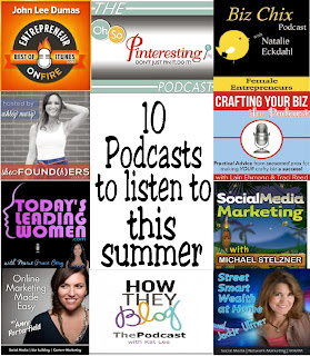 Great podcasts for bloggers