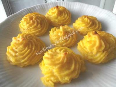 Patate duchesse ricetta per un'elaborazione del purè ottimo contorno
