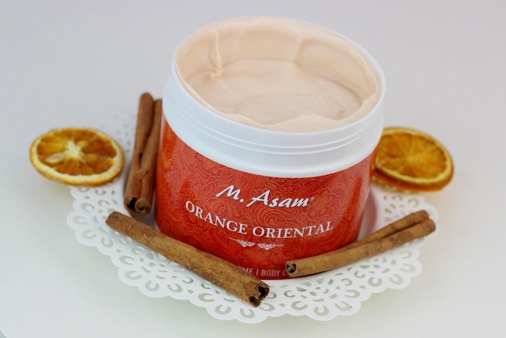qvc, körpercreme, winterduft, body cream, m. asam, orange oriental