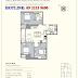 Mặt bằng căn hộ 3 Phòng Ngủ R6 Royal City
