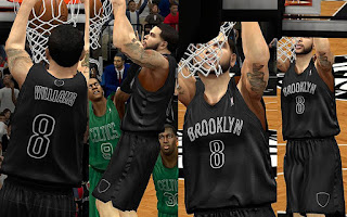 NBA 2K13 Brooklyn Nets Christmas Jersey