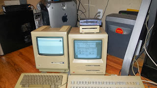 Mac G4, 128K, SE