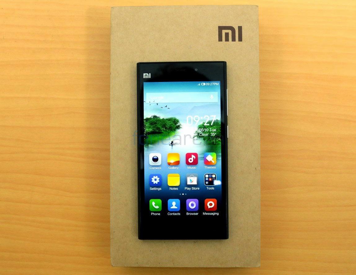 Di India, Xiaomi Mi3 Dijual Eksklusif Rp 2,7 Juta