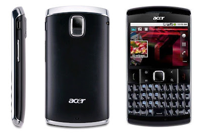 Acer beTouch E210 in black