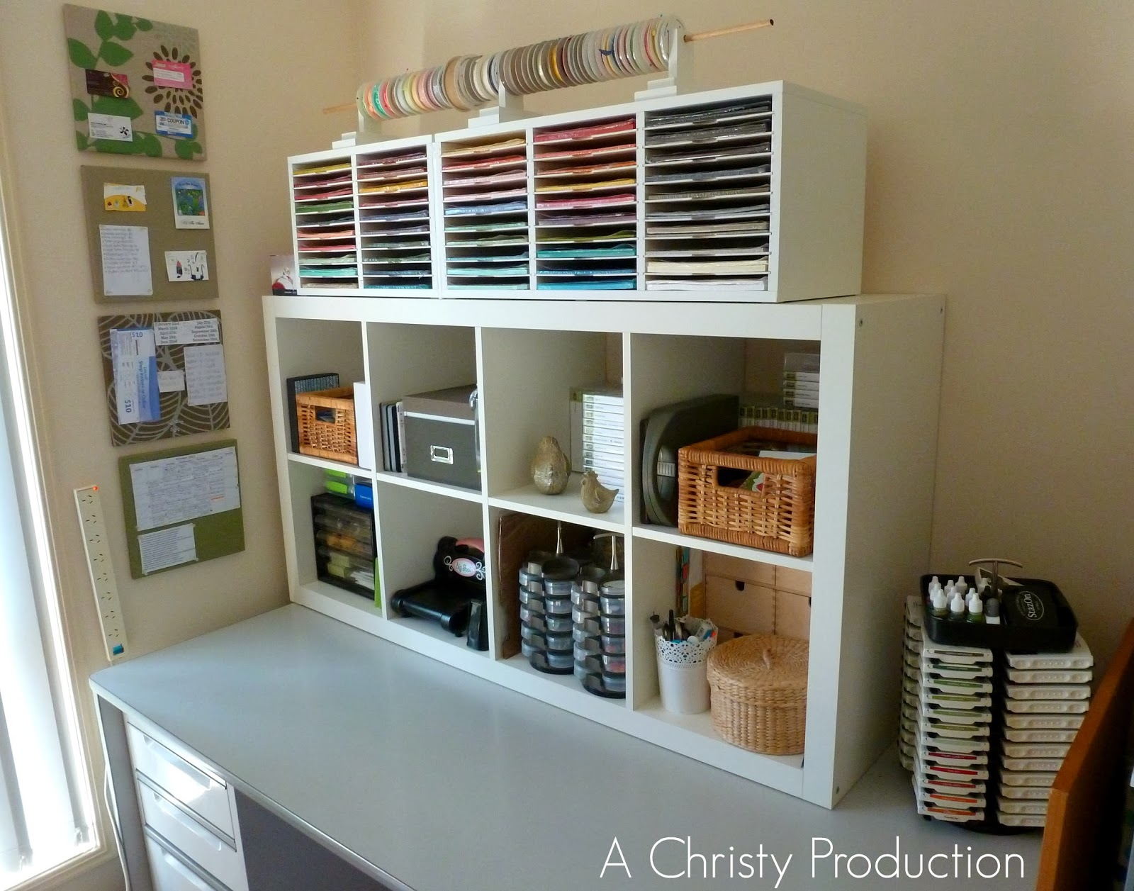A Christy Production Project Organise Craft Desk Complete
