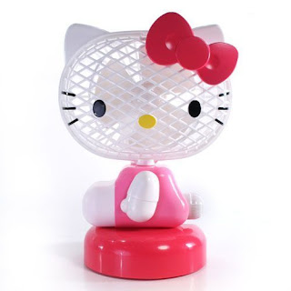 Hello Kitty Electric Fan