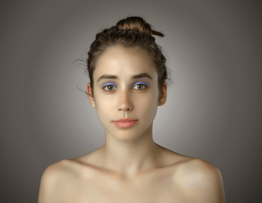 KENYA - Woman Had Her Face Photoshopped In More Than 25 Countries To Compare Their Beauty Standards