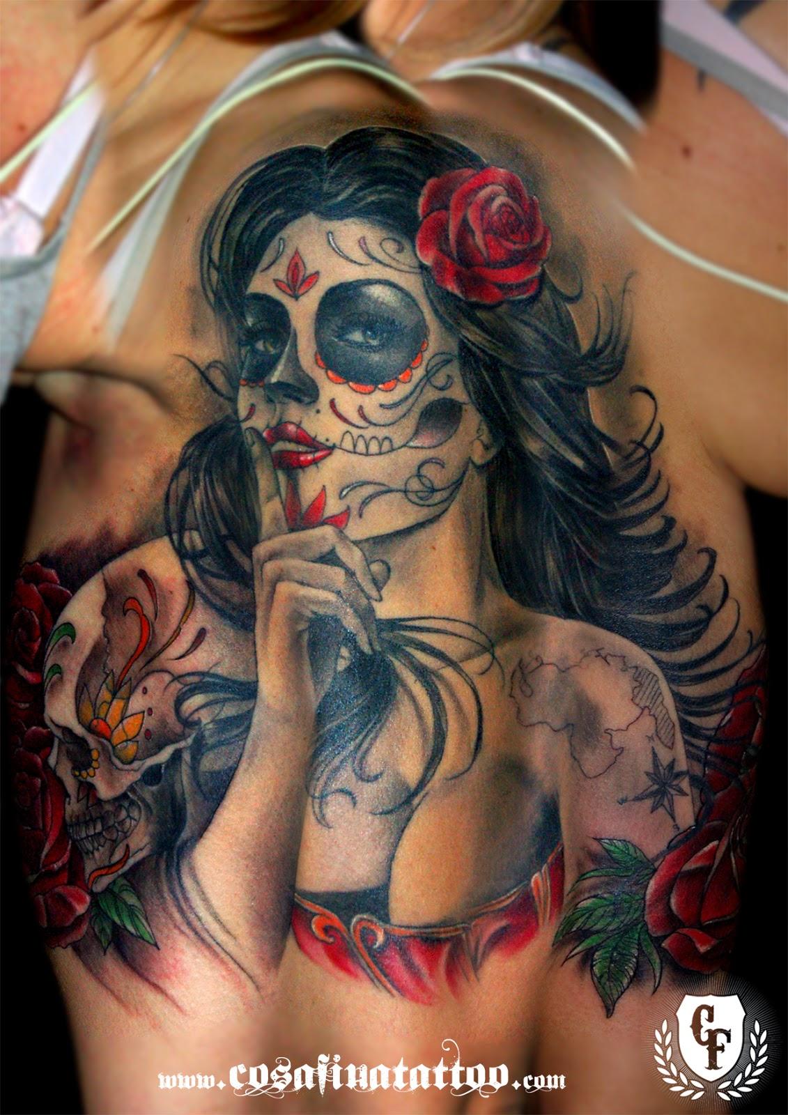 Imagenes De Rosas Para Tatuar - 24 tatuajes de flores para mujeres Tatuajes para mujeres y