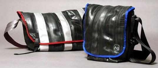 Dari ban bekas kita bisa membuat Dompet dan Tas