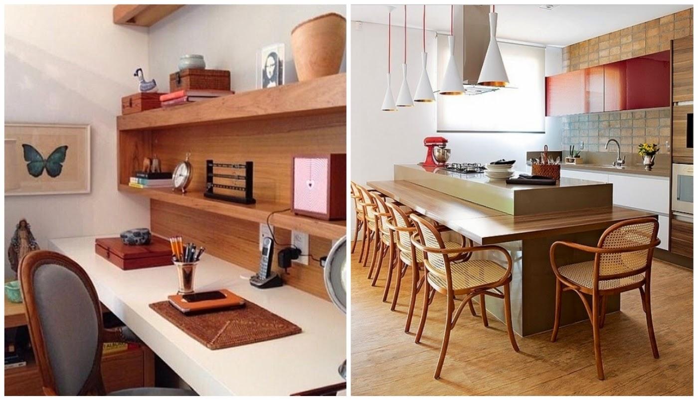 home office @assimeugosto armário vermelho de cozinha @assimeugosto