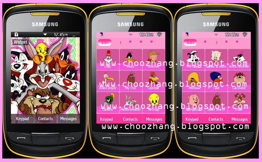 Samsung Corby 2 Themes Free Download