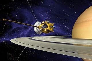 Universo Eléctrico. Sonda Cassini en su periplo alrededor de Saturno