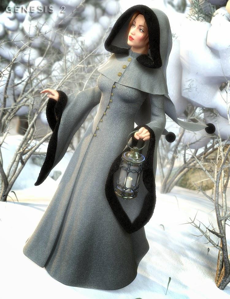 Winter Fantasy pour Genesis 2 Femme