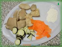 Melanzane, funghi e carote fritti
