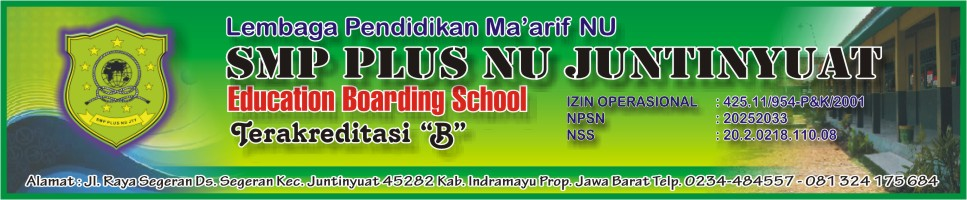SMP Plus NU Juntinyuat