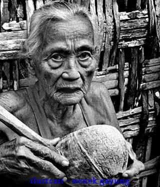 Gambar Foto Video Nenek Gayung - Ilustrasi