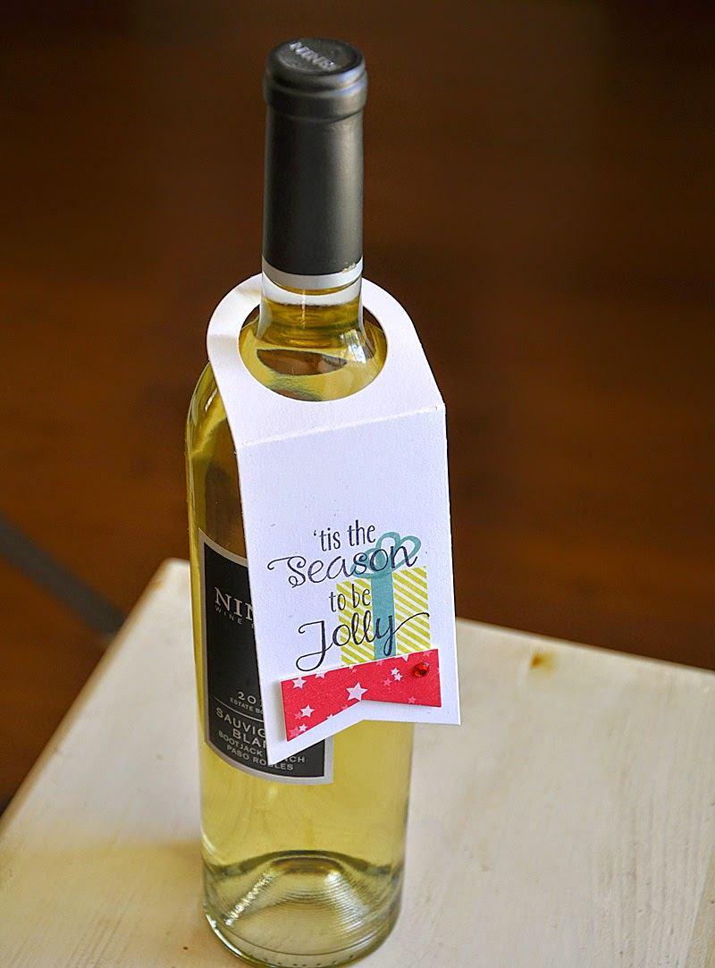 Simply stamped versatile wine bottle tags for How to cut the top off a wine bottle