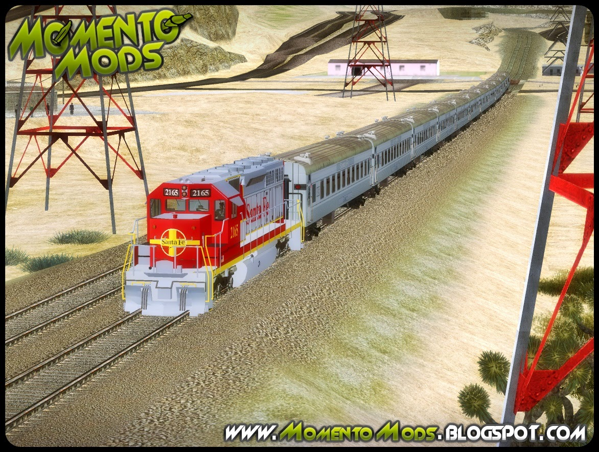 GTA SA - Trens Realistas