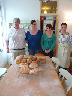 End of the baking class at The One Mile Bakery