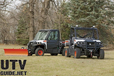 Bobcat 3600 and 3650 utility vehicles