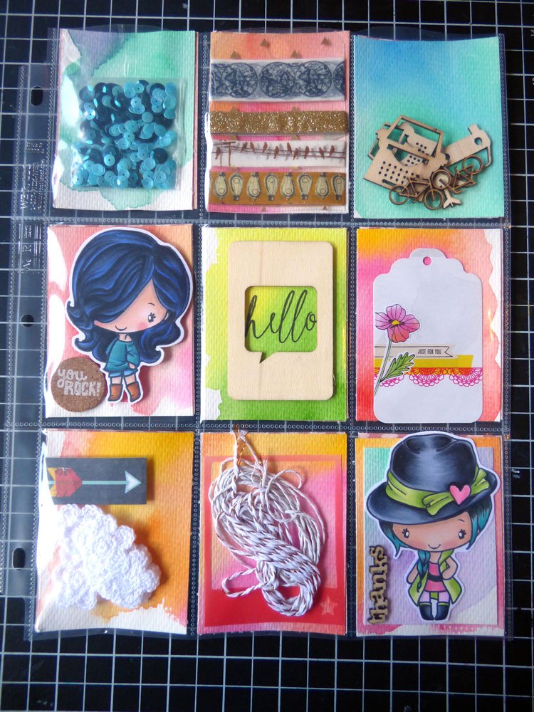 Inky Fairy Designs Handmade Gift Exchange