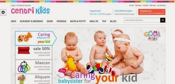 Kids Store Responsive Prestashop – CentriKids