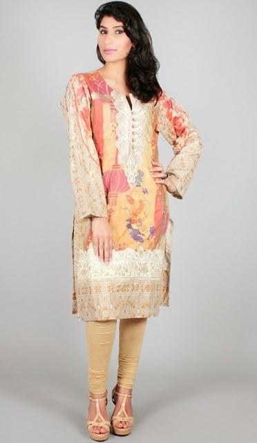Shamaeel Ansari designer collection 2014-15