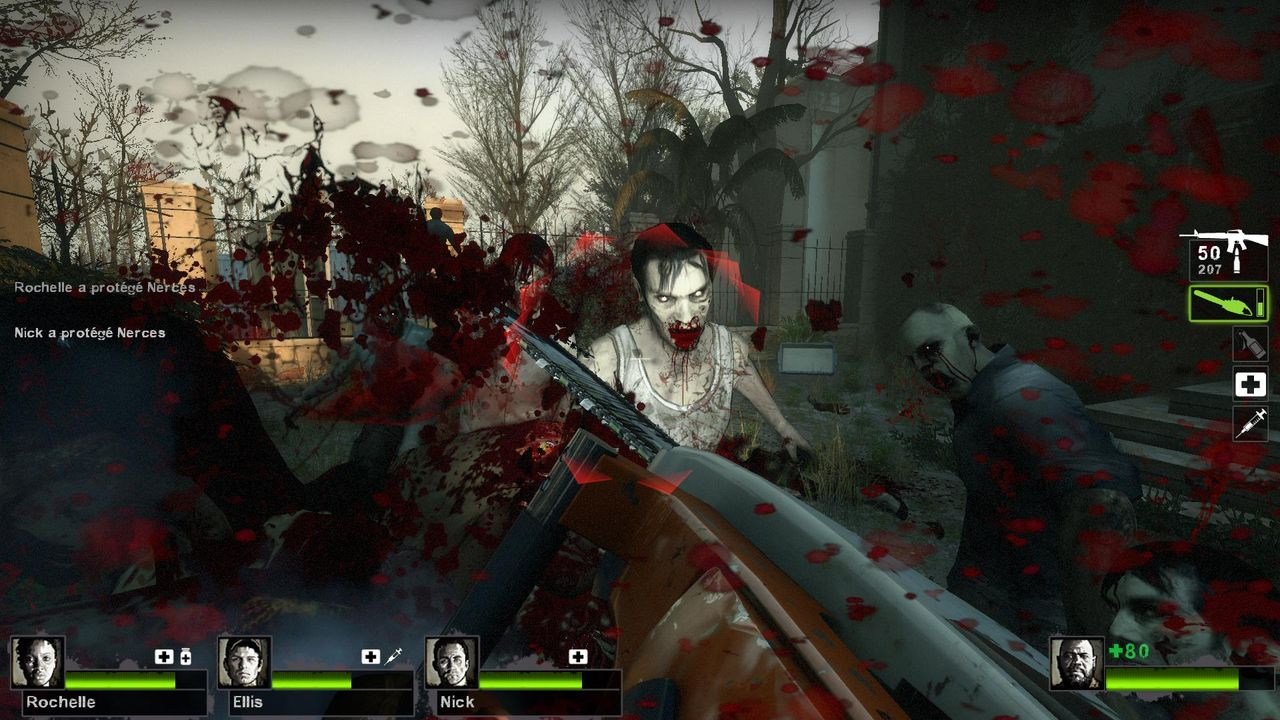 left for dead2 how to change sound effects