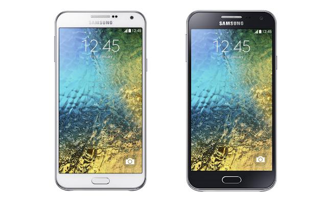Samsung Galaxy E7 & Galaxy E5