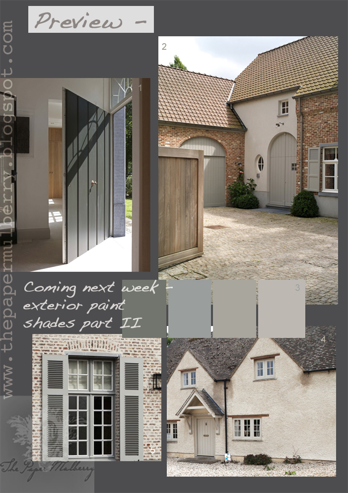 The Paper Mulberry Preview Exterior Paint Shades Part 2